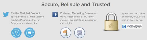 Trust Factors on Homepage Onlin