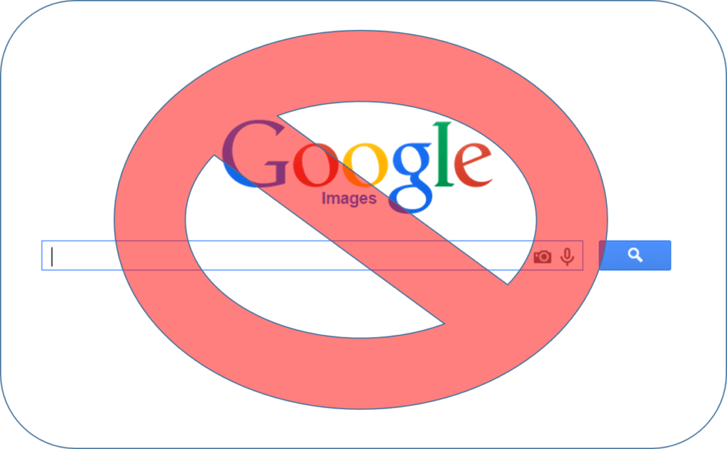 Don't use google images