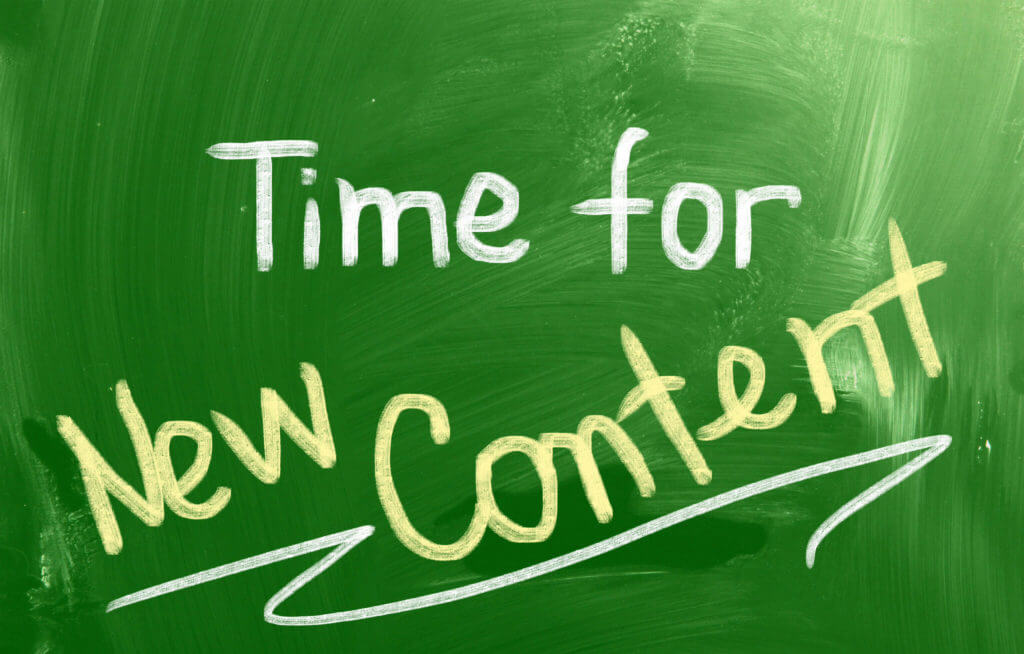 Creating new digital marketing content