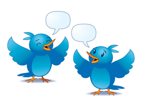 Engage with others on Twitter