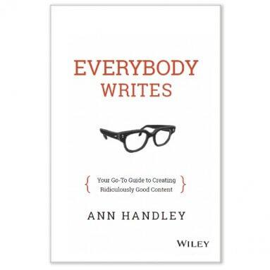 ann handley book Everybody Writes