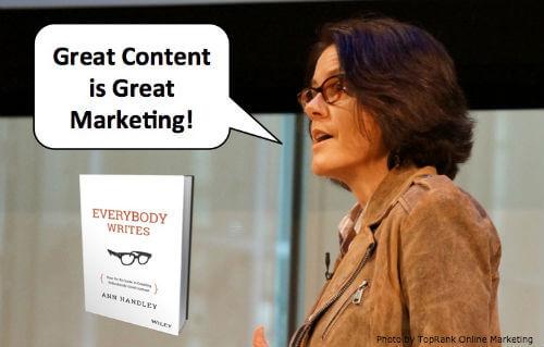 Ann Handley MarketingProfs Speaking
