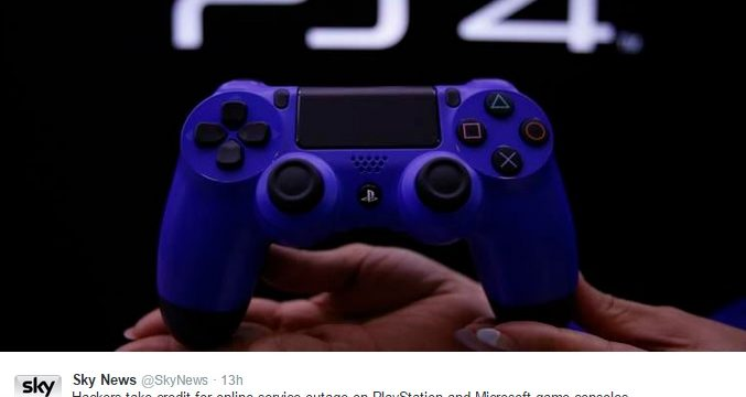 Twitter PlayStation