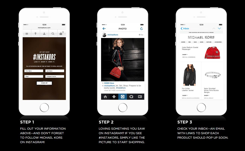 Instagram Shoppable Mobile Screnshots