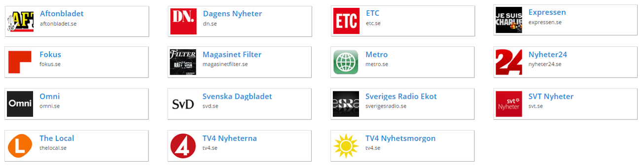 Swedish National Media Market Landscape