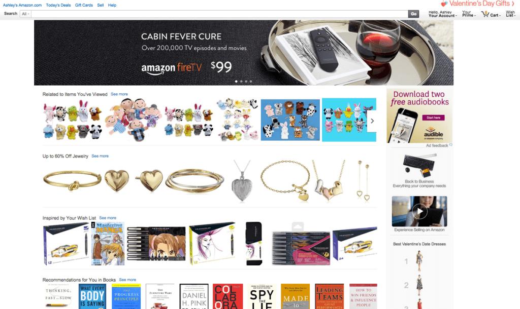 Amazon.com customer engagement