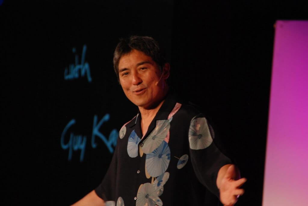 Guy Kawasaki has High Social IQ