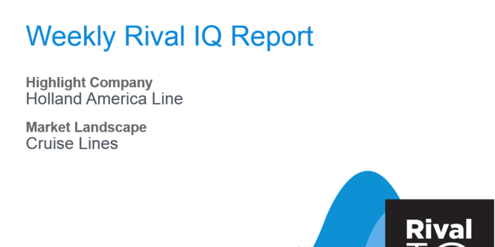 Rival IQ Weekly Checklist Report