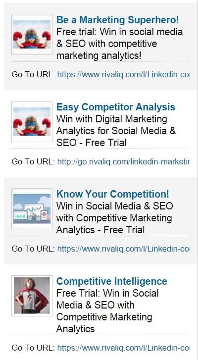 LinkedIn Ads Example