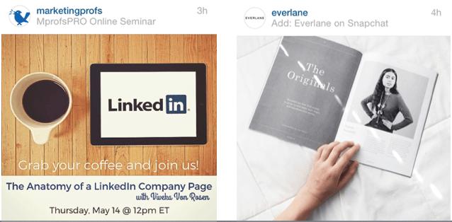Location as CTA Instagram Marketing