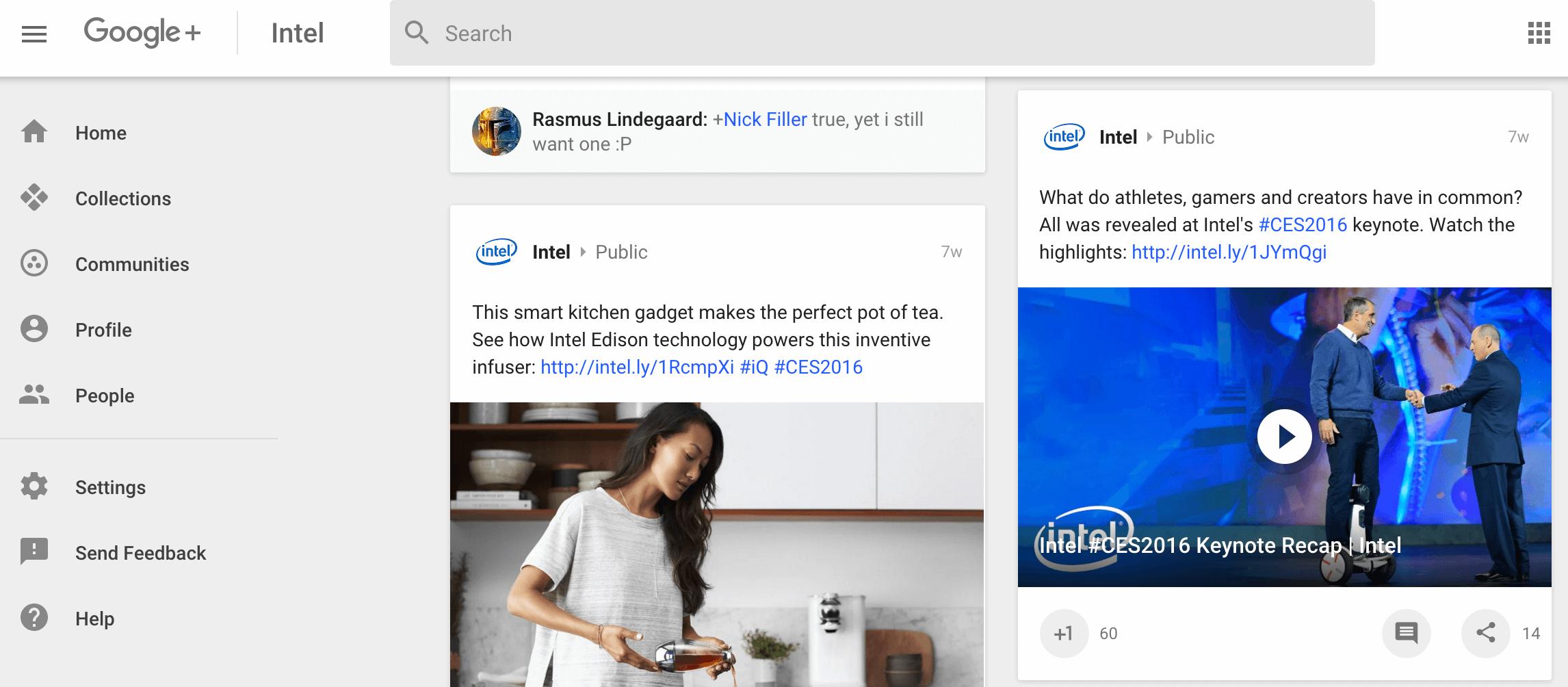 B2B Marketing Google+