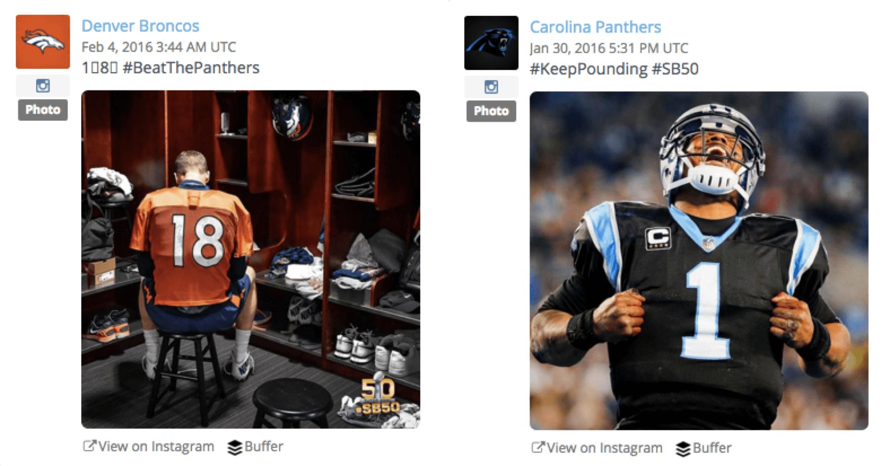 Super Bowl 50 Images Speak Louder Than Words