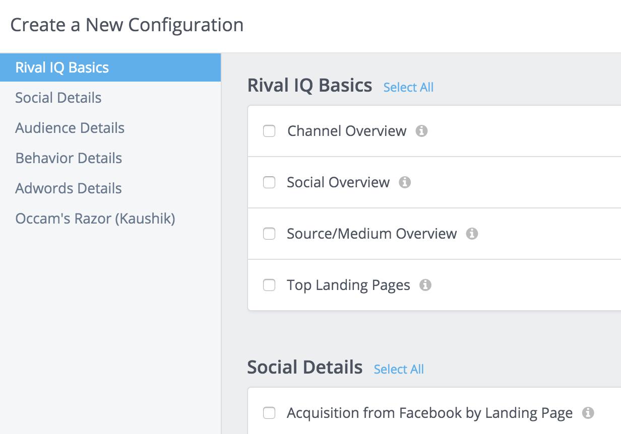 Google Analytics Custom Configuration
