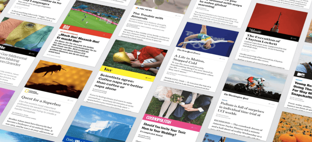 Facebook Instant Articles cards