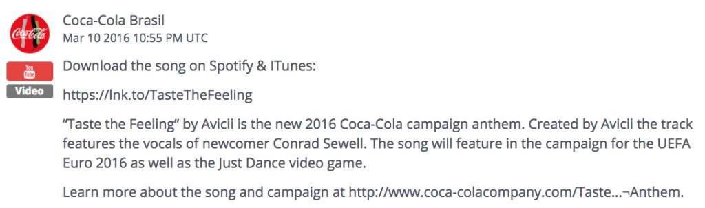 Coca-Cola Social Post