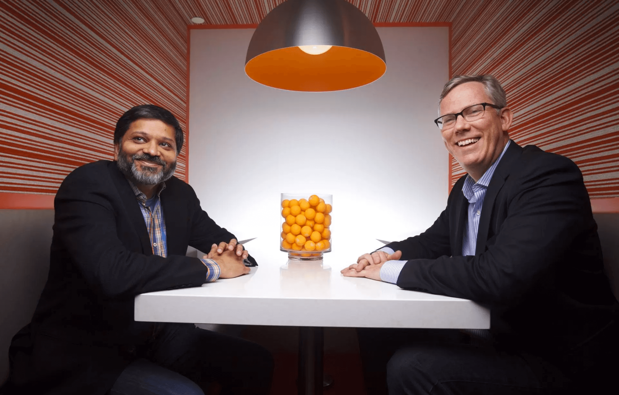Dharmesh Shaw & Brian Halligan CTO & CEO and Co-Founders of Hubspot