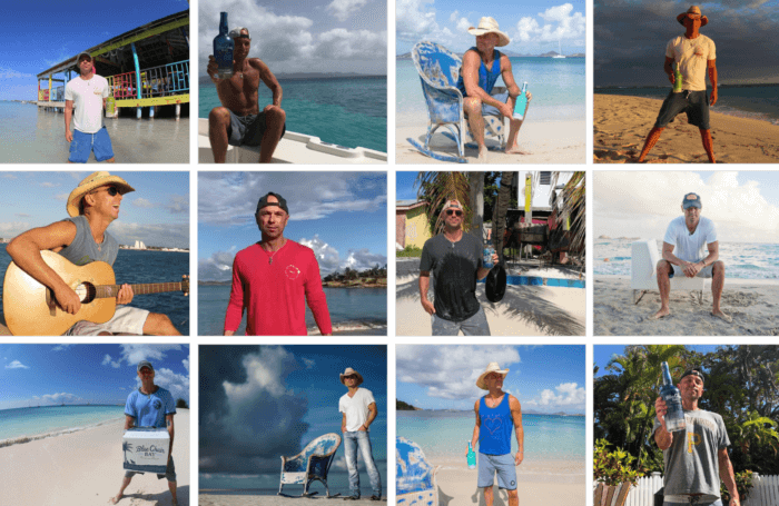 12 posts from Blue Chair Bay Rum featuring Kenny Chesney on the beach