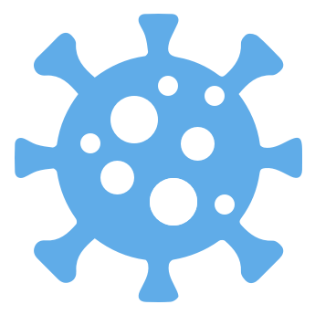 Icon of COVID virus